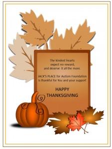 Thanksgiving thank you facebook
