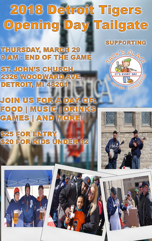 2018 opening day tailgate flyer jacks place for autism foundation
